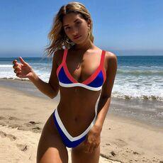 Bikini 2020 Solid Swimsuit Women Swimwear Push Up Bikini Set Patchwork Biquini Brazilian Summer Beach Bathing Suit Swim Wear