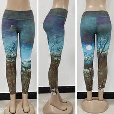 LI-FI Fitness Yoga Pants Women Leggings Floral Workout Sports Running Leggings Sexy Push Up Gym Training Wear Elastic Slim Pants