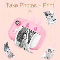 Minibear Kids Instant Camera For Children Print Camera 1080P Digital Camera For Kid Photo Camera Toy Christmas Gift For Girl Boy