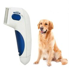 Pet Flea Lice Cleaner Comb Electric Dog Flea Cleaning Brush Anti Flea Dog Comb Electronic Lice Comb for Cats Dogs Pet Supplies
