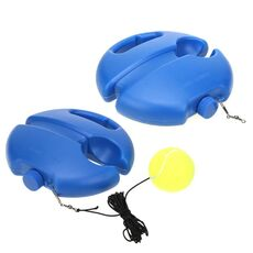 Tennis Practice Trainer Single Self-study Tennis Training Tool Exercise Rebound Ball Baseboard Sparring Device Tennis Accessorie