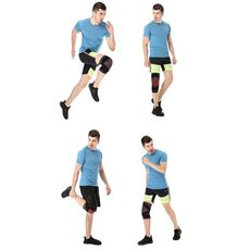WorthWhile 1PC Sports Kneepad Men Pressurization Knee Pads Support Fitness Gear Elastic Basketball Volleyball Brace Protector