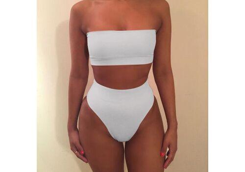 Swimwear Women Bandage Bra Swimsuit Bathing 2pcs Set