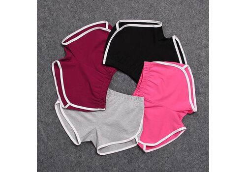 Women Short Pant Casual Lady All-match Loose Solid Soft Cotton Leisure Female Workout Waistband Skinny Stretch Shorts New